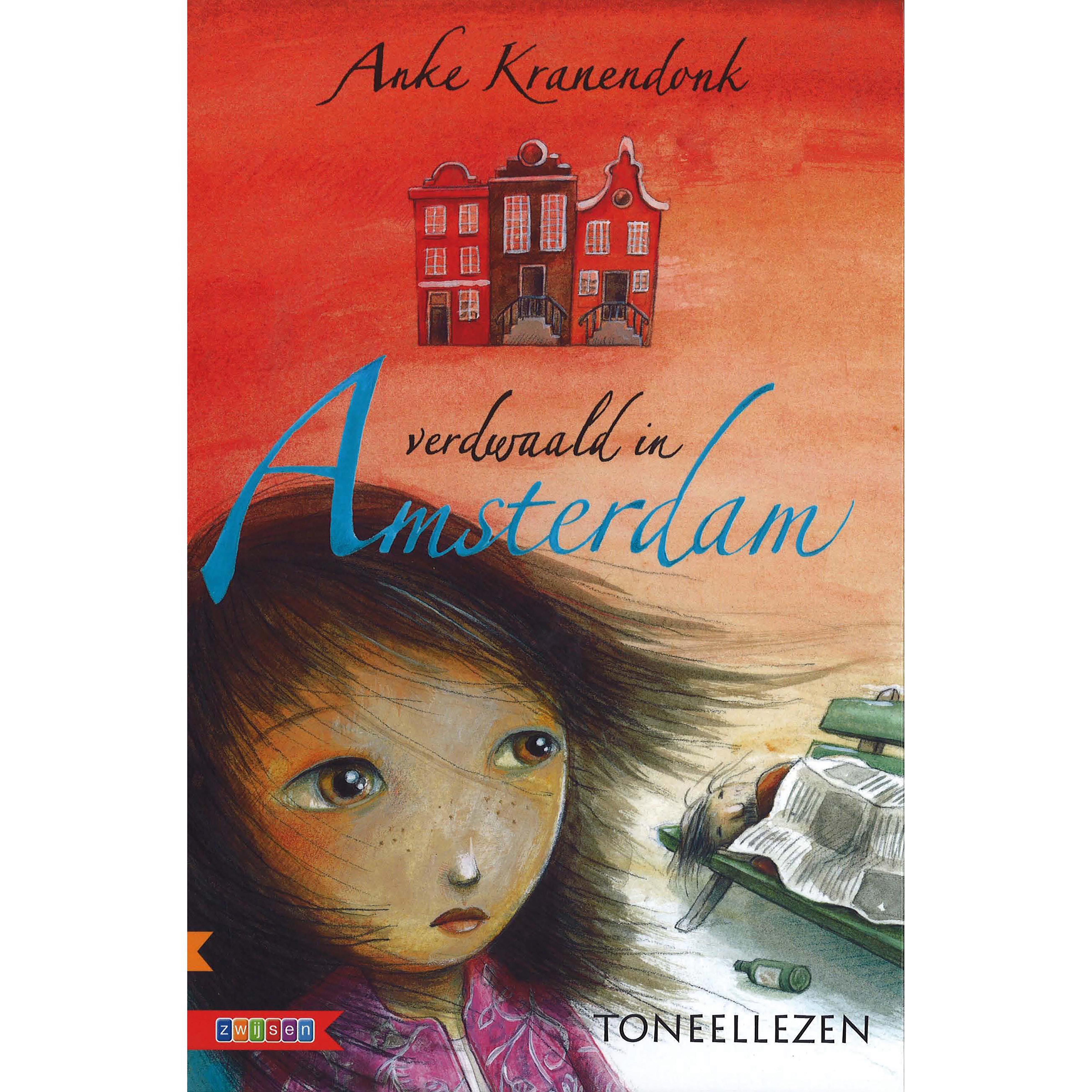 Dit toneelleesboek verdwaald in amsterdam is geschreven op avi e6. hachi...wie? ja, dat vraagt dus iedereen, ...