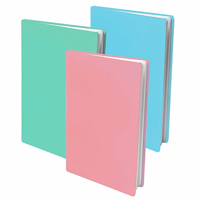 Boekenkaft | Rekbaar | Pastel | 3 stuks