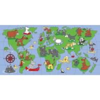 Speelmat | Wereldkaart