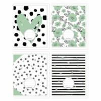 Schriften - Budget groen   Heutink   Liniatuur commerciaal 4 x 7.5 mm   25 stuks