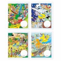 Schriften - Kijkplaten | Heutink | Liniatuur commerciaal 4 x 7,5 mm | 25 stuks