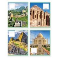Schriften - Wereldwonderen | Heutink | Liniatuur 24 lijnen | 25 stuks