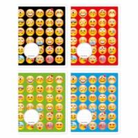 Schriften - Smileys   Heutink   Liniatuur 6-3-6 mm   25 stuks