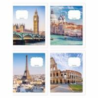 Schriften - Europese gebouwen | Heutink | Liniatuur 6-3 mm | 25 stuks