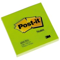 Notitieblaadjes | Post-it | Groen | 76 x 76 mm