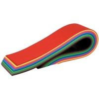 Hoofdstroken kleur | 290 grams | Formaat: 70 x 7 cm