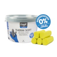 Klei | Creall-therm junior | Geel | 2 kg