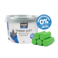 Klei | Creall-therm junior | Groen | 2 kg