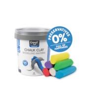 Stoepkrijt klei | Chalk Clay | Creall |  6 kleuren