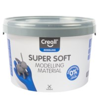 Klei | Creall-supersoft | Rood | 1750 gram