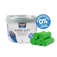 Klei | Creall-supersoft | Groen | 1750 gram