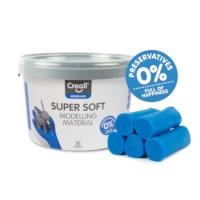 Klei | Creall-supersoft | Blauw | 1750 gram