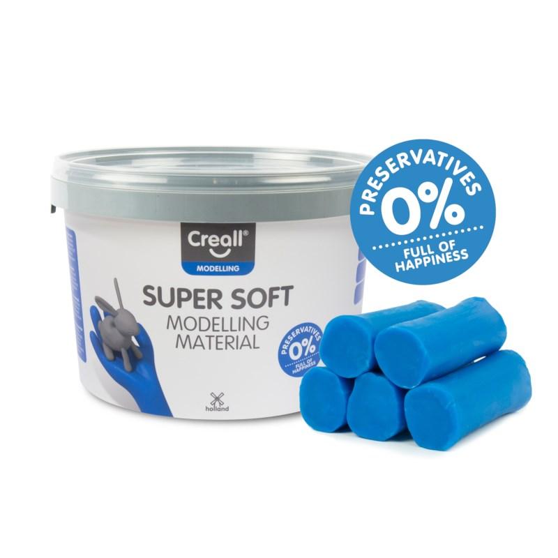 Klei   Creall-supersoft   Blauw   1750 gram