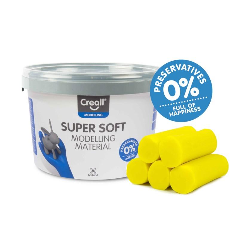 Klei   Creall-supersoft   Geel   1750 gram
