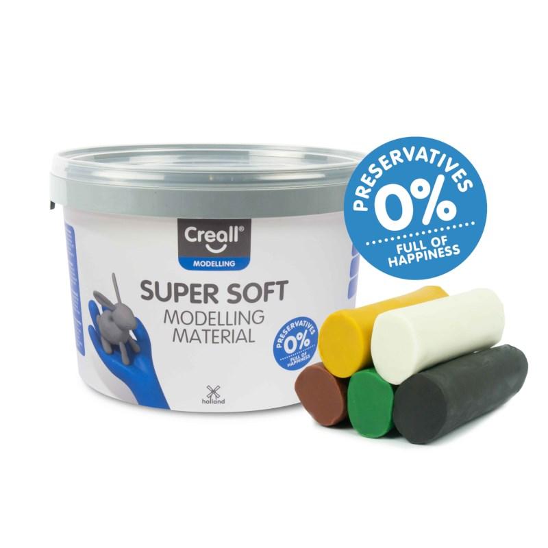 Klei Supersoft   Creall   Safari assortiment