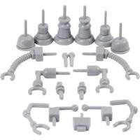 Klei | Robot onderdelen | Set à 19 stuks