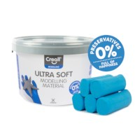 Klei | Creall mini-silky soft | Blauw | 1100 gram