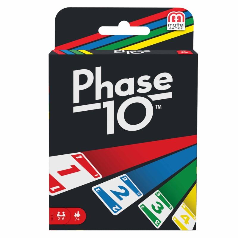 Phase 10   Kaartspel   Mattel