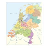 Landkaartpuzzels | Nederland