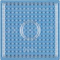 Strijkkralen onderlegplaat | Hama Midi | Transparant | Vierkant | 7,5 cm