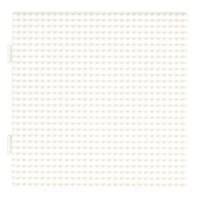 Strijkkralen onderlegplaat | Hama | Wit | Groot vierkant