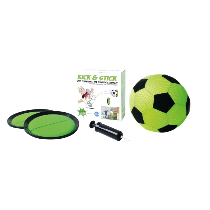 Voetbalspel Kick en Stick