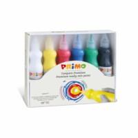 Plakkaatverf   Primo   Primaire kleuren   6 flacons à 75 ml