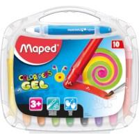 Gelkrijt moothy | Maped | 10 kleuren assorti