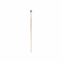 Lyonse penseel lang nr. 12 set van 12 stuks | platte bus 11 mm | Heutink