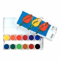 Verfdoos | Plakkaatverf | 12 kleuren