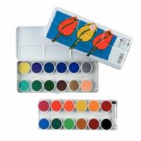 Verfdoos | Plakkaatverf | 24 kleuren