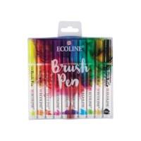 Ecoline brushpen | Assorti kleuren | Set à 10