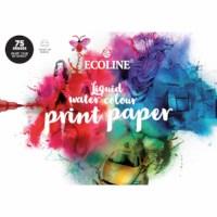 Ecoline print papier | Talens | A4 | 150 grams | 75 vel