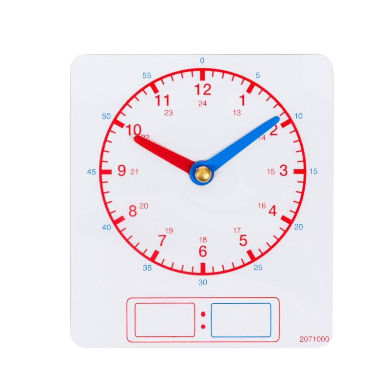 Magnetische klok | Leerlingklokjes (in 10-voud)