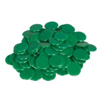 Rekenfiches | Groen ø 20 mm (100 stuks)