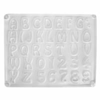 Gietvorm  | Alfabet en cijfers | 37-delig