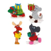 Krimpie Dinkie | Kerstfiguren