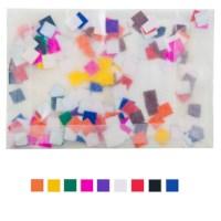Plakfiguren vierkanten   8 mm   Assorti