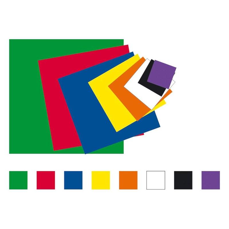 Plakfiguren vierkanten | 12 mm | Assorti