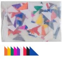 Plakfiguren | Driehoeken | 22 mm gelijkzijdig | Assorti