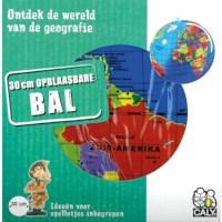 Wereldbol   Opblaasbaar   Ø 30 cm