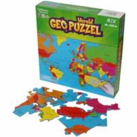 GeoPuzzel Wereld | 68 stukken