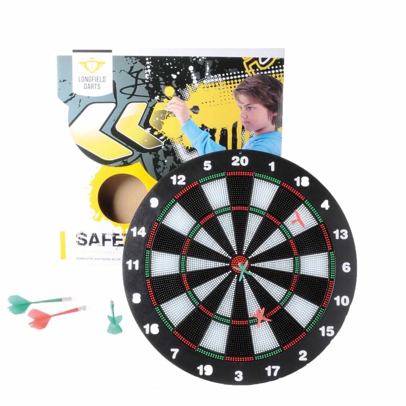 Dartbord inclusief pijlen | Kinder safety dartbord