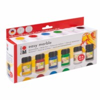 Marmerverf | Marabu | Set à 6 flacons | 15 ml
