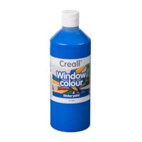 Stickerverf | Creall | Blauw | Window color | 500 ml