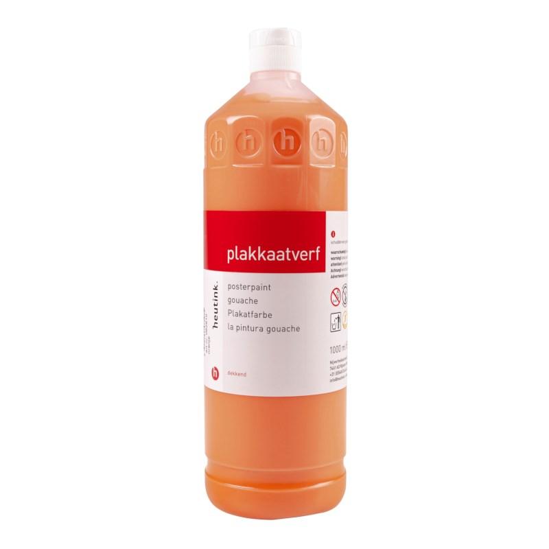 Plakkaatverf   Heutink   Oranje   1 liter