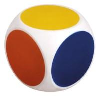 Dobbelsteen met kleuren | 10 cm