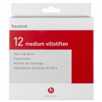 Viltstiften| Medium | Heutink | Etui à 12 stuks