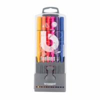 Fineliner | Bruynzeel | Punt 0.4 mm | 12 kleuren