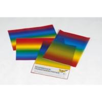 Regenboogpapier   35 x 50 cm